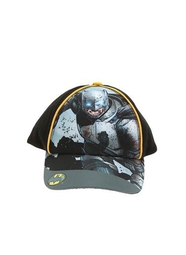 Koton Koton Erkek Çocuk Batman Karakterli Siyah Şapka Siyah
